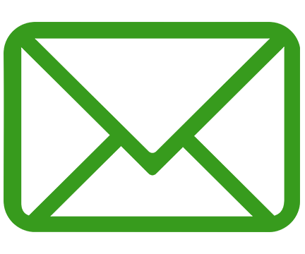 email splashed hydrographics, picture of a green email icon