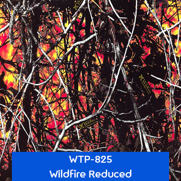 wildfire reduced camouflage hydro dipping