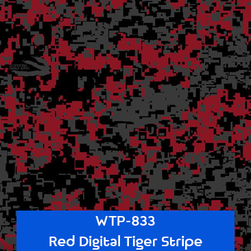red digital tiger stripe camouflage
