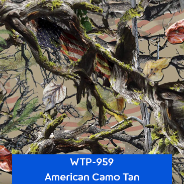 american camo tan hydrographics camouflage