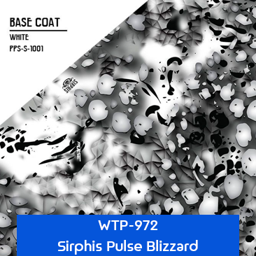 sirphis pulse blizzard white camouflage pattern