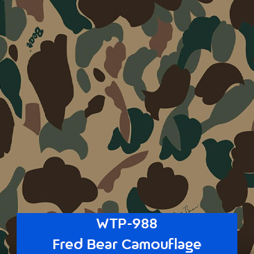 fred bear camouflage