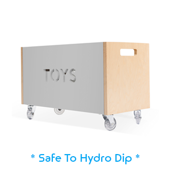 toy chest for hydro dipping