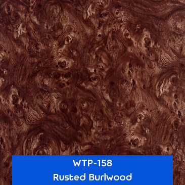 rusted burlwood hydro dipping design