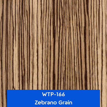 zebrano grain hydro dipping film