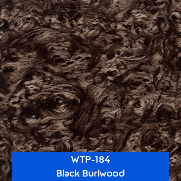 black burlwood hydro dipping pattern