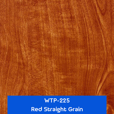 red straight grain wood hydrographics