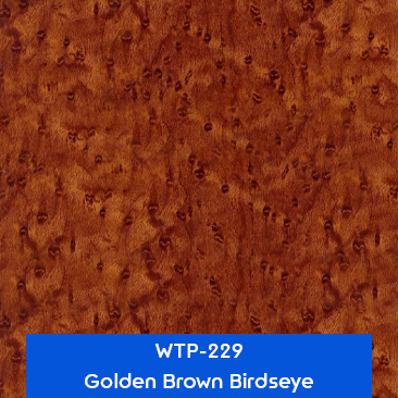 golden brown birdseye water transfer printing film