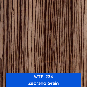 zebrano grain wood hydrographics