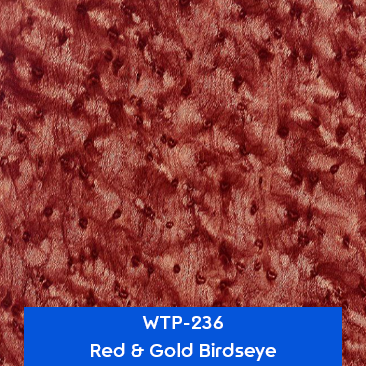 red and gold birdseye water transfer printing film