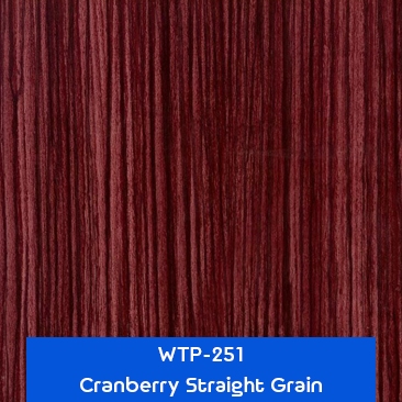 cranberry straight grain wood hydrographics