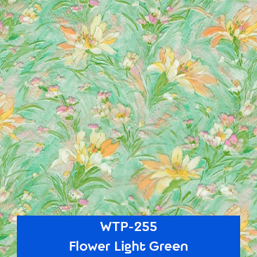 flower light green water transfer printing film