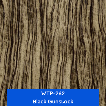black gunstock wood hydrographics