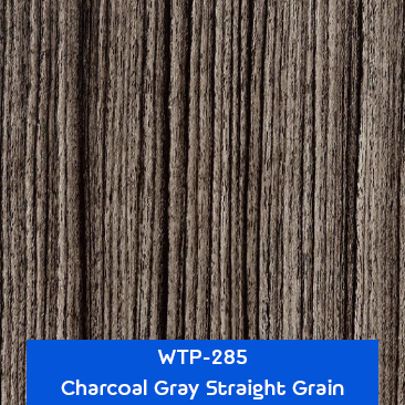 charcoal gray straight grain wood hydrographics