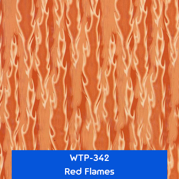 red flames designer hydrographics
