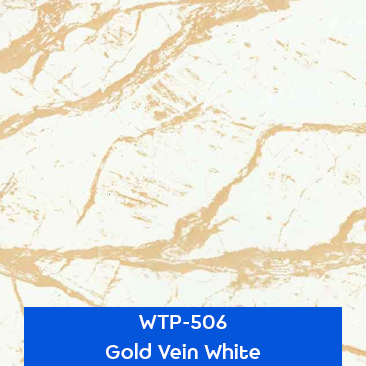 gold vein white stone hydrographics pattern