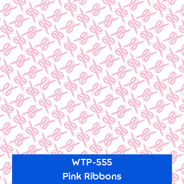 pink ribbons designer hydrographics