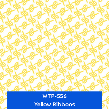 yellow ribbons designer hydrographics