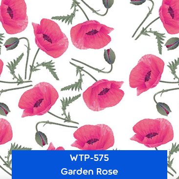 garden rose hydro dipping film