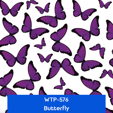 butterfly hydro dipping pattern