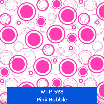 pink bubble designer hydrographics