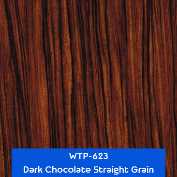 dark chocolate straight grain wood hydrographics