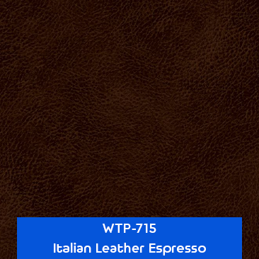 italian leather espresso designer hydrographics