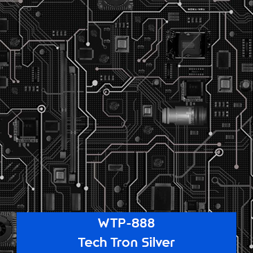 tech tron silver hydro dipping pattern
