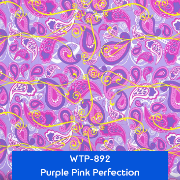 purple pink perfection water transfer printing pattern