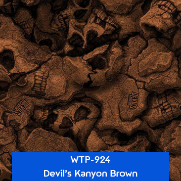 devils kanyon brown hydro dipping pattern