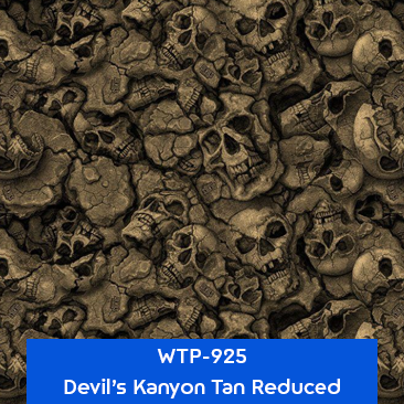 devils kanyon tan reduced hydro dipping pattern