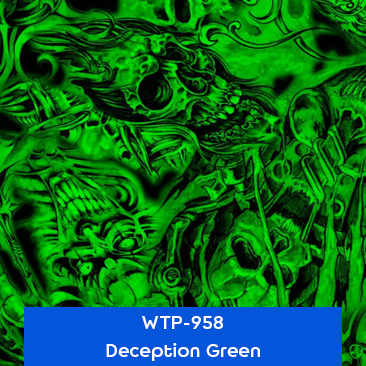 deception green designer hydrographics