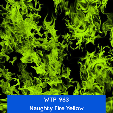 naughty fire yellow designer hydrographics